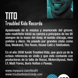 Tito @ Audio Nights Radio Show (17.11.11)