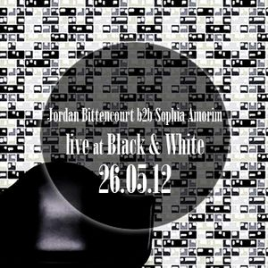 Jordan Bittencourt b2b Sophia Amorim @ at Black & White party (26.05.2012)