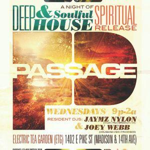 DJs Jaymz Nylon Recorded Live @ Passage Nov. 7, 2012