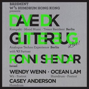Dave DK, Ocean Lam, Casey Anderson, Wendy Wenn - Back-to-Back @ Bassment, HK - 6 April 2013 - 0430AM