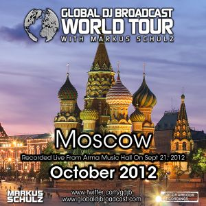 Global DJ Broadcast Oct 04 2012 - World Tour: Moscow