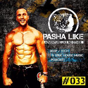 #033 Deep, Tech & True House Music Podcast by Pasha Like