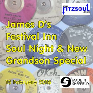 James D's Fitzsoul Festival Inn Soul Night Special February 2016