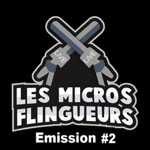 Emission #2 - Les Micros Flingueurs - Audrey (Photographe) et Greg Tabibian (J'suis pas content Tv)