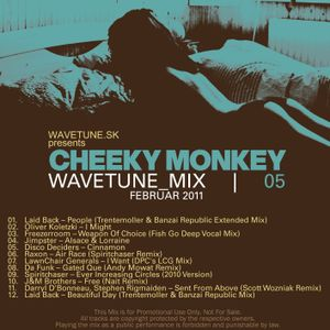Wavetune Mix 05 mixed by Cheeky Monkey