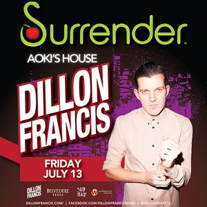 Dillon Francis – Surrender Las Vegas Podcast 028 – 23.07.2012