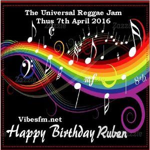 Thurs 7th April 2016 Senator B on The Universal Reggae Jam Vobesfm.net