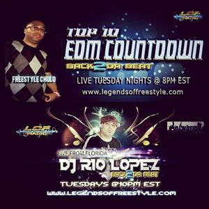 TOP 10 EDM COUNTDOWN FT KRIS MONICO 11-5-13