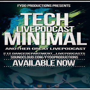 LivePodcast_TwoOneTwoStudioDanceDepartment [Mnml- Techno Set]