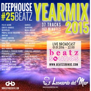 Beatz Sounds #07 - 01.01.2016 - 'DeepHouseBeatz Yearmix 2015' by Leonardo del Mar