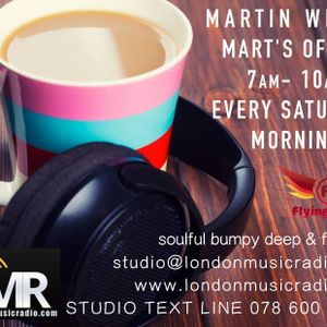 09.09.17 Mart's Office London Music Radio