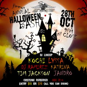 Promo mix by Kochi for Jimmy Valentine's Annual Halloween Bash 2017
