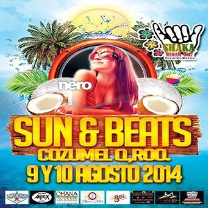 Tribal House Sun & Beats Cozumel Agosto 2014