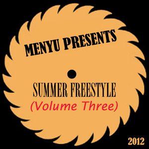 menyu presents: summer freestyle (volume three)