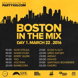 Dj ArDao - Boston In The Mix