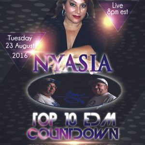 Top 10 EDM Countdown with Freestyle Chulo and Dj Lexx Special Guest Nyasia and Santana Twins 8-23-16