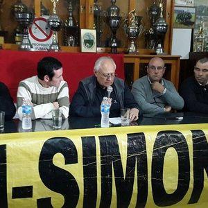 Sergio Simoni, Cesar Aldunate y Juan Cruz Vidal