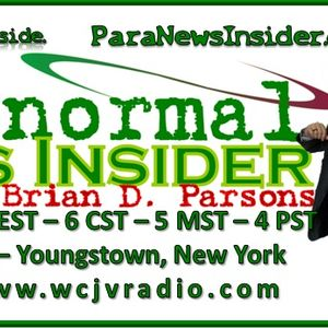 Paranormal News Insider with Host Dr. Brian Parsons 20160830 #280