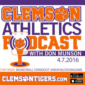 Clemson Athletics Podcast 4.07.2016