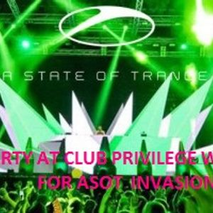 Official Open Set of Club Privilege Ibiza for ASOT INVASION BE FOR THE ASOT STARS COMMING 06.08.12