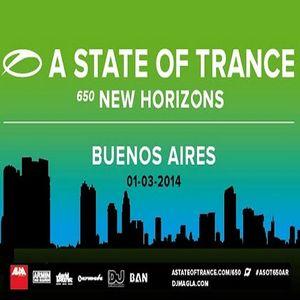 Ruben De Ronde  -  Live At ASOT 650, Ciudad Del Rock (Buenos Aires)  - 01-Mar-2014