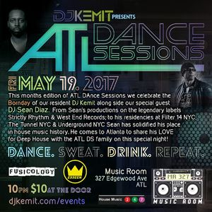DJ Kemit presents ATL Dance Sessions May 2017 Promo Mix