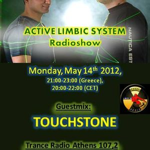 Active Limbic System show on Athens trance radio 107.2fm special guest Touchstone 14-5-12
