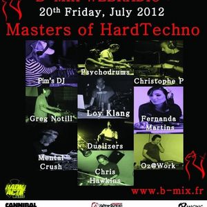 Pim's DJ presents CHRISTOPHE P. (Guest DJ) - Masters Of HardTechno (20/07/12)