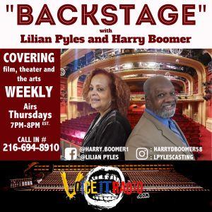 Backstage w/ Lillian Pyles & Harry Boomer 7/11/19 Guest: K O'Malley (@BorderLightCLE) & K Hutchinson