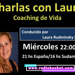CHARLAS CON LAURA- Programa 5 25.07.2018