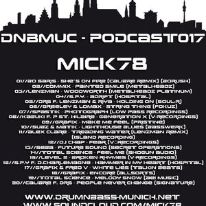 DNBMUC-PODCAST 017 by Mick78