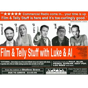 FILM AND TELLY STUFF WITH LUKE AND AL pt. 10 + GUEST CHARLIE COX