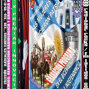 638 PROGRAMA MUJERES QUE HICIERON PATRIA EN EL BICENTENARIO DE LA INDEPENDENCIA DE ARGENTINA DE VBN