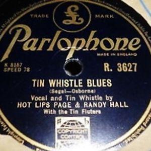 Randy Hall's Tin Whistle Blues