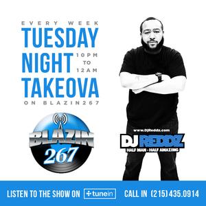 Dj Redz and The Tuesday Night Takeova 6 27 17