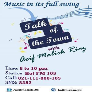 RJ Asif Malik Riaz-25-03-2016-Talk of the Town-Celebrities ki kaunsi cheez chahein ge