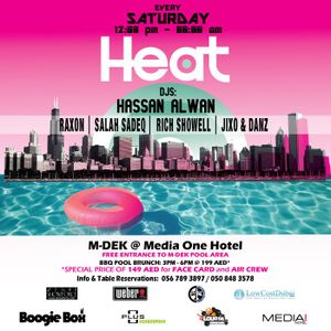 HEAT In the Storm | Media One Dubai 12.02.11
