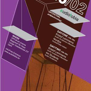 Radio Audiofobia 3 (16/3/2012)