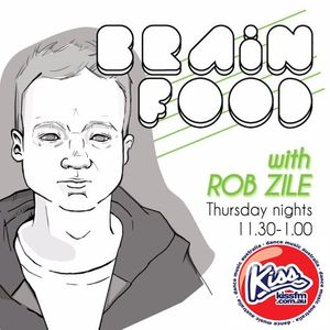 Brain Food with Rob Zile - Live on KissFM - 07-07-2016 - PART 1 - HOUSE GROOVES