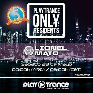 Lionel Mato (Closing Set) 5° Aniversario PlayTrance Radio (28.05.2016)