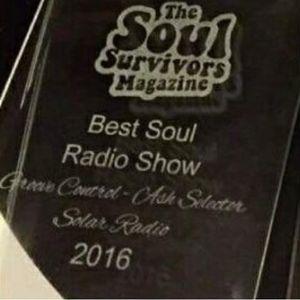 11.3.2017 Ash Selector's Award Winning Groove Control Show on Solar Radio
