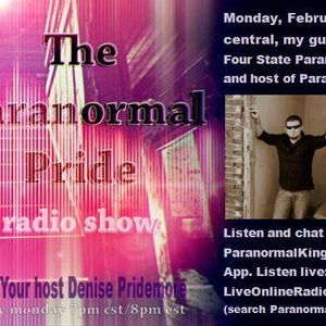 The Paranormal Pride with guest David Glidden-Four State Paranormal