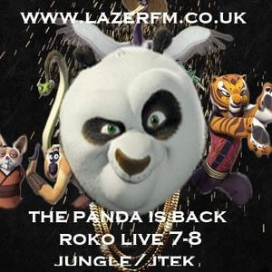 THE PANDA IS BACK AGAIN.....cover show 4 Pooks......ROKO LIVE...(Tracklist & D/L)..