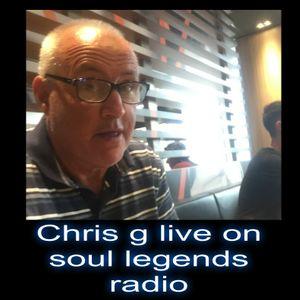 chris g on soul legends radio [26-3-2017]
