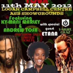 2012-03-29 Episode 44 - Promoting the upcoming NZ LEGENDs Tour-Etana-Andrew Tosh - Kymani Marley