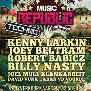 Billy Nasty Live @ Music Republic Sidelingepark,Rotterdam (18.06.11)