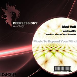 DSR307 Mad Volt - Heartbeat Ep