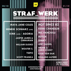 Hot Since 82 - Live at Knee Deep In Sound vs Straf Werk (ADE 2017, Amsterdam) - 20-Oct-2017