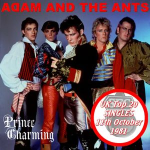 UK TOP 20 SINGLES for October 11th 1981