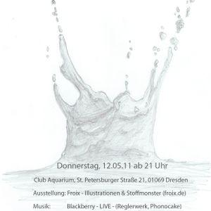 Waterlounge-Ausstellungseröffnung 12.5.11 // Blackberry (Live)